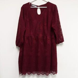 Maurices lace dress tunic.  Size xxl